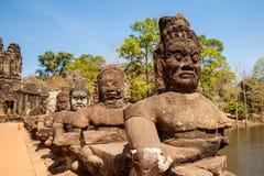Ναός Angkor Thom Καμπότζη Bayon Στοκ Εικόνα