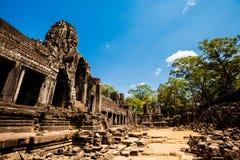 Ναός Angkor Thom Καμπότζη Bayon Στοκ εικόνες με δικαίωμα ελεύθερης χρήσης