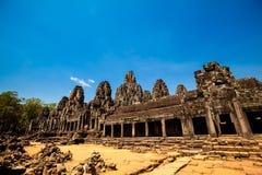 Ναός Angkor Thom Καμπότζη Bayon Στοκ Εικόνες