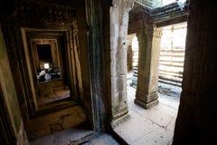 Ναός Angkor Thom Καμπότζη Bayon Στοκ Φωτογραφίες