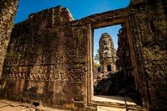 Ναός Angkor Thom Καμπότζη Bayon Στοκ Φωτογραφία