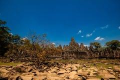 Ναός Angkor Thom Καμπότζη Bayon Στοκ φωτογραφίες με δικαίωμα ελεύθερης χρήσης