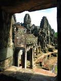 Ναός Angkor Thom, Καμπότζη Bayon Στοκ εικόνα με δικαίωμα ελεύθερης χρήσης