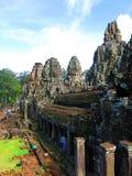 Ναός Angkor Thom, Καμπότζη Bayon Στοκ εικόνες με δικαίωμα ελεύθερης χρήσης