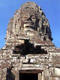 Ναός Angkor Thom Bayon αγαλμάτων Στοκ Φωτογραφίες