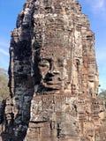 Ναός Angkor Thom Bayon αγαλμάτων Στοκ εικόνες με δικαίωμα ελεύθερης χρήσης