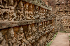 Ναός Angkor Thom Bayon Στοκ εικόνα με δικαίωμα ελεύθερης χρήσης