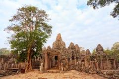 Ναός Angkor Wat, Καμπότζη Bayon Στοκ φωτογραφίες με δικαίωμα ελεύθερης χρήσης