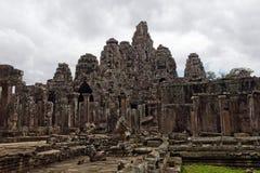 Ναός Angkor wat στην Καμπότζη Στοκ Φωτογραφία