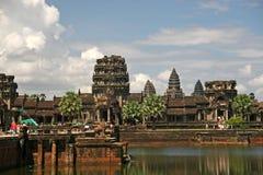 Ναός Ankgor Wat στην Καμπότζη. Χρονολογείται από το 8ο αιώνα και την πλάτη από ήταν για το μέγεθος του σύγχρονου Λα που το κάνει l Στοκ φωτογραφία με δικαίωμα ελεύθερης χρήσης