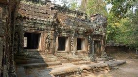ναός ankor wat σύνθετος Στοκ Εικόνες
