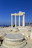 Ναός Apollon, πλευρά, Τουρκία Στοκ φωτογραφίες με δικαίωμα ελεύθερης χρήσης