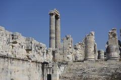 Ναός Apollon - Didyma/της Τουρκίας Στοκ Φωτογραφία