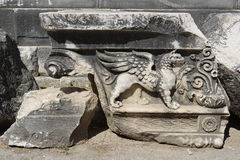 Ναός Apollon - Didyma/της Τουρκίας Στοκ Εικόνα