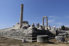 Ναός Apollon - Didyma/της Τουρκίας Στοκ εικόνα με δικαίωμα ελεύθερης χρήσης