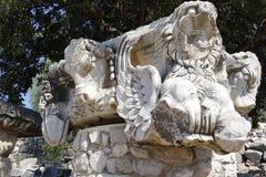 Ναός Apollon - Didyma/της Τουρκίας Στοκ φωτογραφία με δικαίωμα ελεύθερης χρήσης