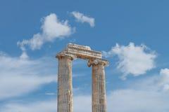 Ναός Apollon Didyma Στοκ φωτογραφία με δικαίωμα ελεύθερης χρήσης
