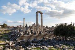 Ναός Apollon Didyma Στοκ Εικόνες