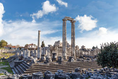 Ναός Apollon Didyma Στοκ φωτογραφίες με δικαίωμα ελεύθερης χρήσης