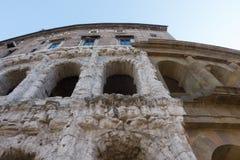 Ναός Apolo ` s και θέατρο του Marcello ` s - καταπληκτική Ρώμη, Ιταλία Στοκ Εικόνες