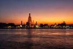 Ναός Arun Rajwararam Wat Στοκ φωτογραφίες με δικαίωμα ελεύθερης χρήσης