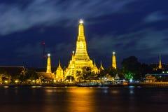 Ναός Arun Wat στη Μπανγκόκ Ταϊλάνδη Στοκ Εικόνες