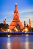 Ναός Arun Wat στη Μπανγκόκ, Ταϊλάνδη Στοκ Φωτογραφίες