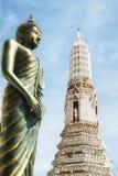 Ναός Arun Wat της Dawn - της Μπανγκόκ, Ταϊλάνδη Στοκ φωτογραφίες με δικαίωμα ελεύθερης χρήσης