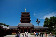 ναός asakusa Στοκ Φωτογραφία