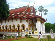 Ναός Ayutthaya Στοκ Εικόνες