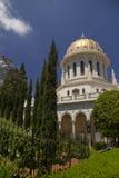 Ναός Baha'i στη Χάιφα, Ισραήλ Στοκ φωτογραφίες με δικαίωμα ελεύθερης χρήσης