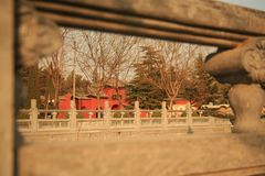 Ναός Baima σε Luoyang Στοκ Φωτογραφίες