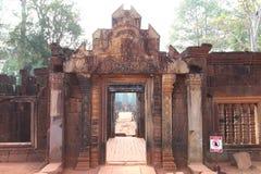 Ναός Banteay Srei σε Angkor Στοκ Εικόνες