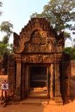 Ναός Banteay Srei σε Angkor Στοκ φωτογραφίες με δικαίωμα ελεύθερης χρήσης