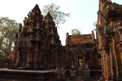 Ναός Banteay Srei σε Angkor Στοκ εικόνα με δικαίωμα ελεύθερης χρήσης