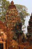 Ναός Banteay Srei σε Angkor Στοκ φωτογραφία με δικαίωμα ελεύθερης χρήσης