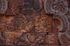 Ναός Banteay Srei σε Angkor Στοκ Εικόνα
