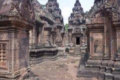 Ναός Banteay Srei Angkor Στοκ εικόνα με δικαίωμα ελεύθερης χρήσης