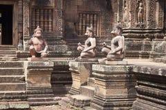 Ναός Banteay Srei Angkor Στοκ εικόνες με δικαίωμα ελεύθερης χρήσης
