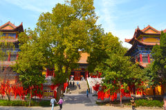 Ναός Baotong Στοκ Εικόνες