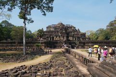 Ναός Baphuon. Angkor Thom. Καμπότζη Στοκ Εικόνες
