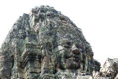 Γιγαντιαία πρόσωπα Angkor Στοκ εικόνα με δικαίωμα ελεύθερης χρήσης