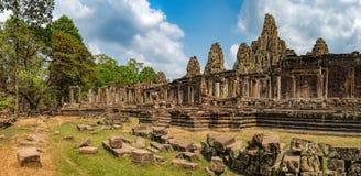 Ναός Bayon σε Angkor Thom σύνθετο, Καμπότζη Στοκ Φωτογραφίες