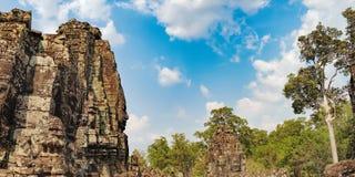 Ναός Bayon σε Angkor Thom σύνθετο, Καμπότζη Στοκ Εικόνες