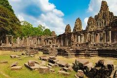 Ναός Bayon σε Angkor Thom σύνθετο, Καμπότζη Στοκ Φωτογραφία