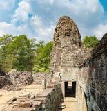 Ναός Bayon σε Angkor Thom σύνθετο, Καμπότζη Στοκ Εικόνα