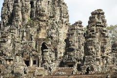 Ναός Bayon σε Angkor Thom Στοκ Εικόνα