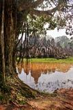 Ναός Bayon σε Angkor Thom Στοκ Εικόνες
