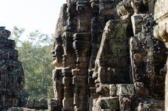 Ναός Bayon σε Angkor Thom Στοκ φωτογραφίες με δικαίωμα ελεύθερης χρήσης