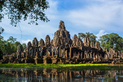 Ναός Bayon σε Angkor Thom Στοκ εικόνα με δικαίωμα ελεύθερης χρήσης